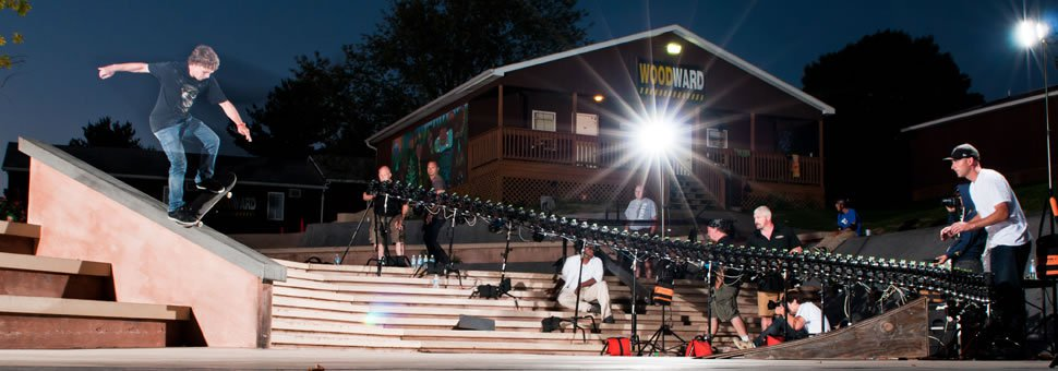 Image: Camp Woodward Skateboarding